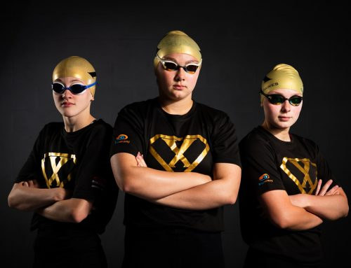 Elite swimming squad Derventio eXcel photo shoot