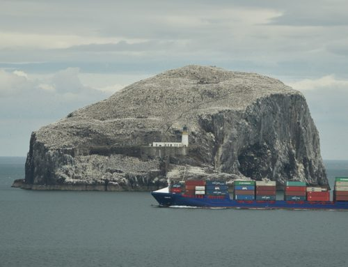 The Bass Rock time-lapse video