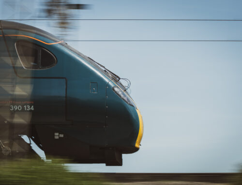Train photography: Ansty